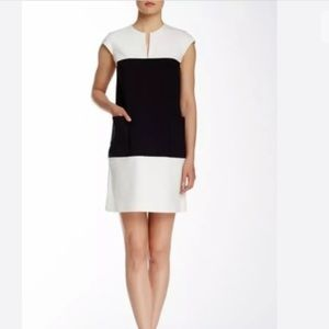♠️Kate Spade Hana Colorblock Cap Sleeve Dress